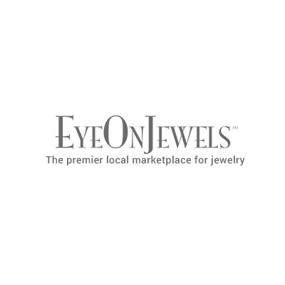 14k yellow gold cz evil eye necklace