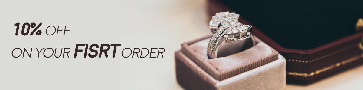 Gold Diamond Engagement & Promise Rings