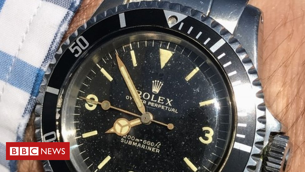 Rolex bought for £69 sold for £80k at Wiltshire auction