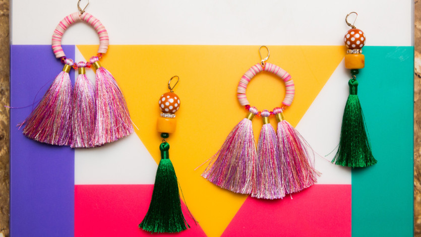 Inside a '70s-Inspired Closet Filled with Bohemian Gowns and Statement Jewelry