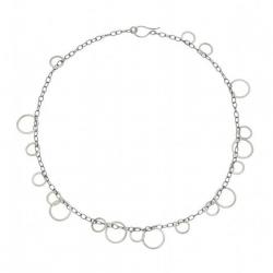 circle bunches necklace