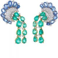 Couture - cascade earrings