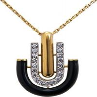 david webb, inc.	unity necklace