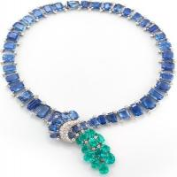 couture - cascade necklace