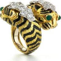david webb, inc.	crossover tiger ring