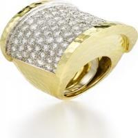 diamond spool ring