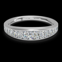 Ritani Women's Pavé Diamond Wedding Ring