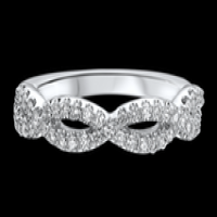Ritani Masterwork Diamond Twist Wedding Ring
