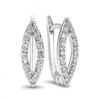ritani cora collection diamond earrings