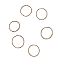 tara hutch 14k gold stacking rings