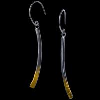 thin line earrings