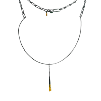 Thin line necklace