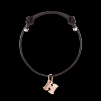damiani bracelet with charms and diamonds