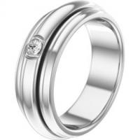 White gold diamond ring band width: 6.2 mm