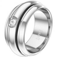 White gold diamond ring Band width: 8.9 mm