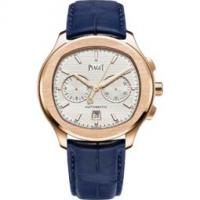 chronograph watch automatic rose gold 42 mm