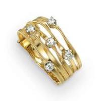 Marco Bicego Marrakech Mini Gold & Diamond Five Strand Ring