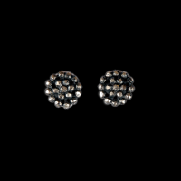 buckle medium stud earrings