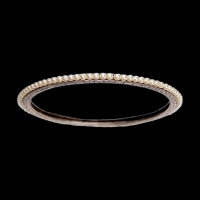 pearl silver bangle