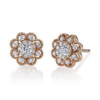 mars  fashion earrings, 0.37 ctw.