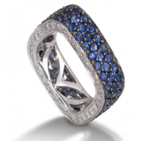 De Boulle Collection Sapphire Band