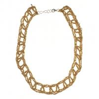 Arielle de Pinto Gold Collar Necklace