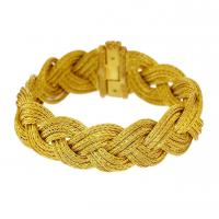 Braided Gold Penelope Bracelet