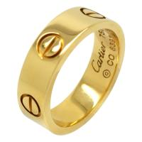 CARTIER LOVE RING 18K YELLOW GOLD SIZE 50 5.5