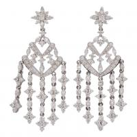 KWIAT DIAMOND CHANDELIER EARRINGS