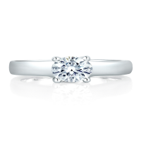 a. jaffe engagement ring classics me1280-40