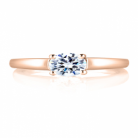 A. JAFFE ENGAGEMENT RING CLASSICS MES063-04
