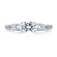 a. jaffe engagement ring classics mes278-236