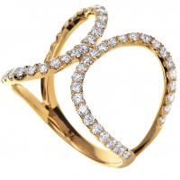 OPEN SET DIAMOND RING