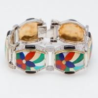 asch grossbardt inlay bracelet
