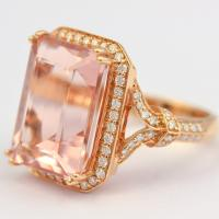 best morganite ring from c. bailey