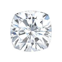 forever one cushion moissanite gemstone