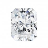 forever one radiant moissanite gemstone