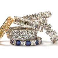 Custom Eternity Bands with Diamonds and Sapphires