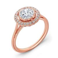 18k Rose Gold Halo Engagement Ring_R9391D_rose