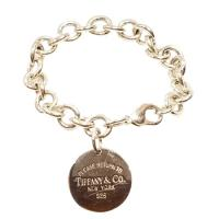 Tiffany & co. tag please return to charm bracelet
