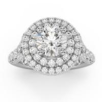 Amden jewelry seamless collection engagement ring