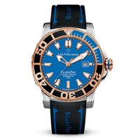 Carl bucherer patravi scubatec 18k rose gold – blue dial