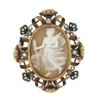 ANTIQUE CAMEO BROOCH
