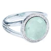 ippolita lollipop sterling silver & diamond mini lollipop ring.