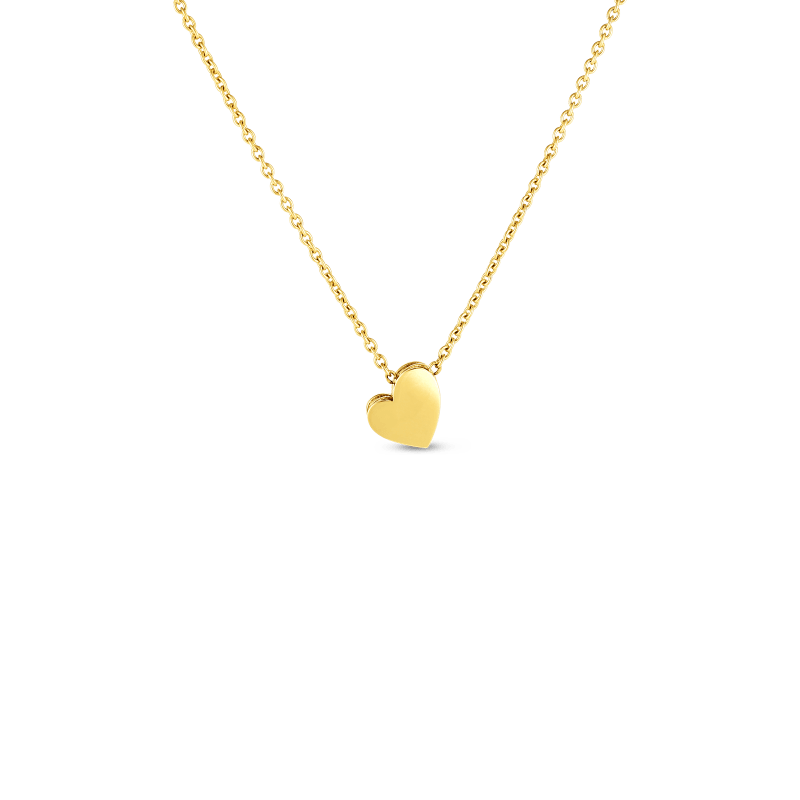 Roberto Coin 18KT GOLD PRINCESS HEART AMORE NECKLACE