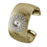 Buccellati NEFERTITI Dahlia yellow gold