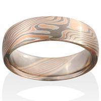Chris Ploof Chris Ploof Chris Ploof Chris Ploof Chris Ploof Chris Ploof Chris Ploof  Birch Mokume in 14K Red Gold, Pd500 and Silver