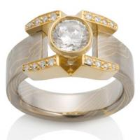 Chris Ploof  The Aria Ring with Pave