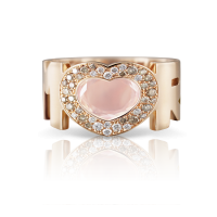 AMORE gold heart-shape Ring