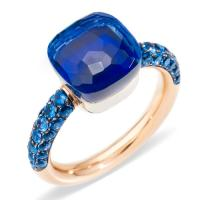 Pomellato Ring Nudo Deep Blue